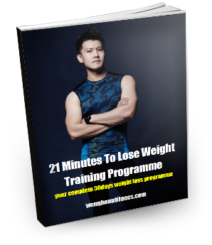 21 Minutes To Weight Loss Training Programme photo cover photo