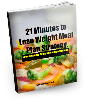 21minutes to lose wieght meal plan