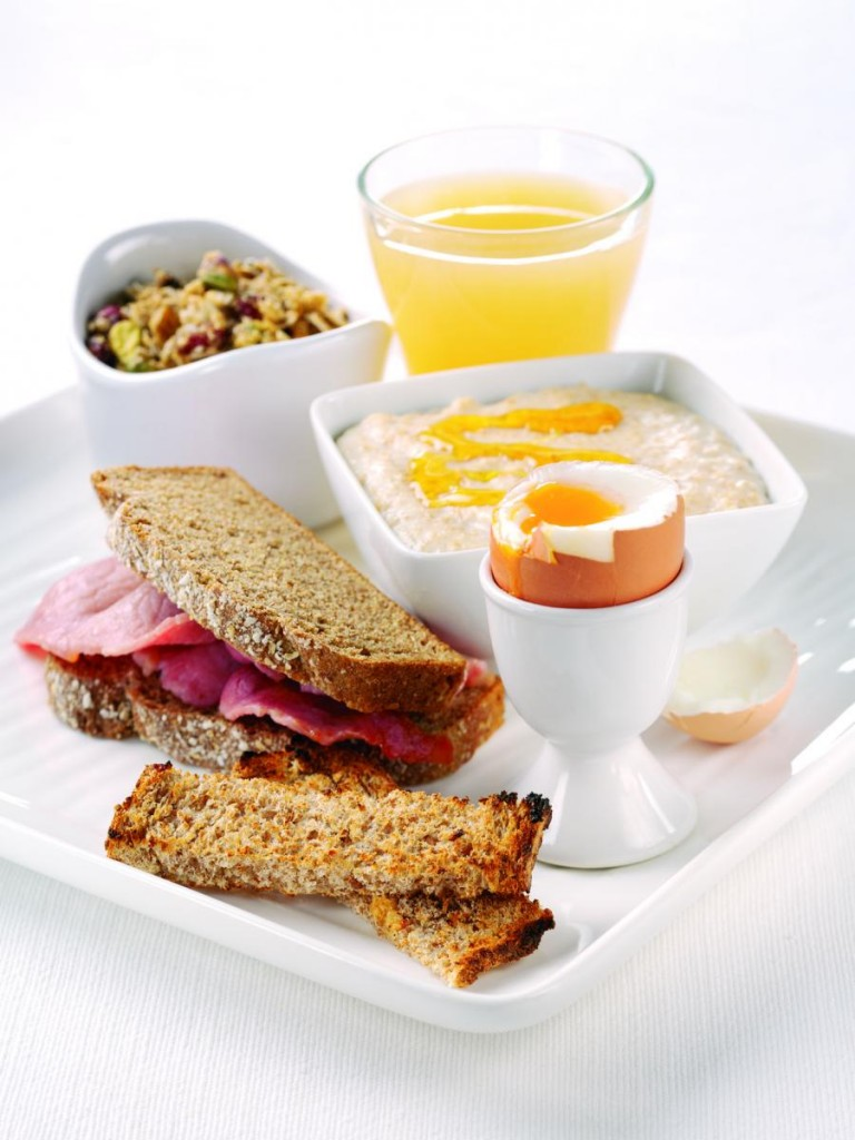 Утренний завтрак диета