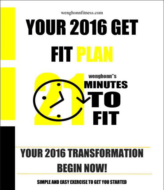 2016 Weight loss plan