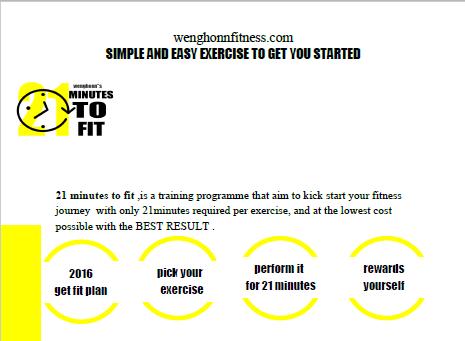 2016 Weight loss plan