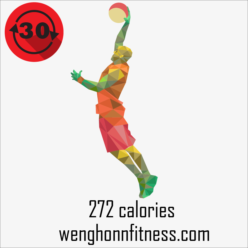 basketball-calories