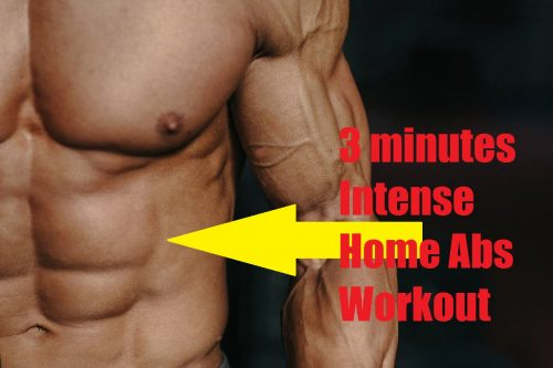 Intense Home Ab Workout for Beginner is abs exercises circuit for beginner to lose weight fast at home, exercise routine abs targeted and anaerobic exercise.