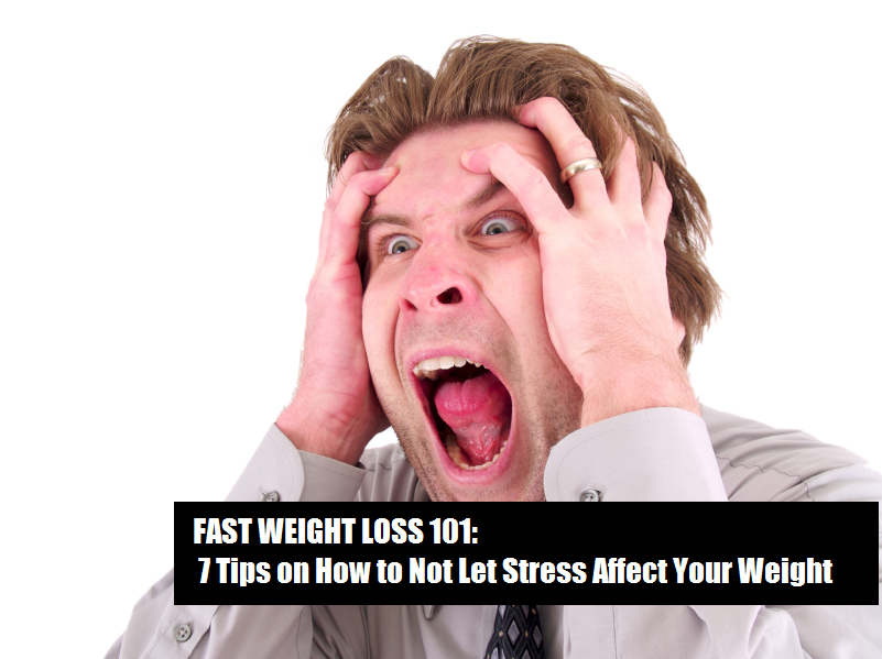stress affecting your weight loss battle