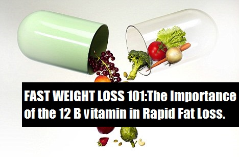 The 12 b vitamin is to maintain a healthy body and help in rapid fat loss. its needed to convert the fats into energy and hence fat loss process started.