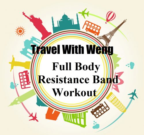 Complete Resistance Band Workout Routine For Traveller Super