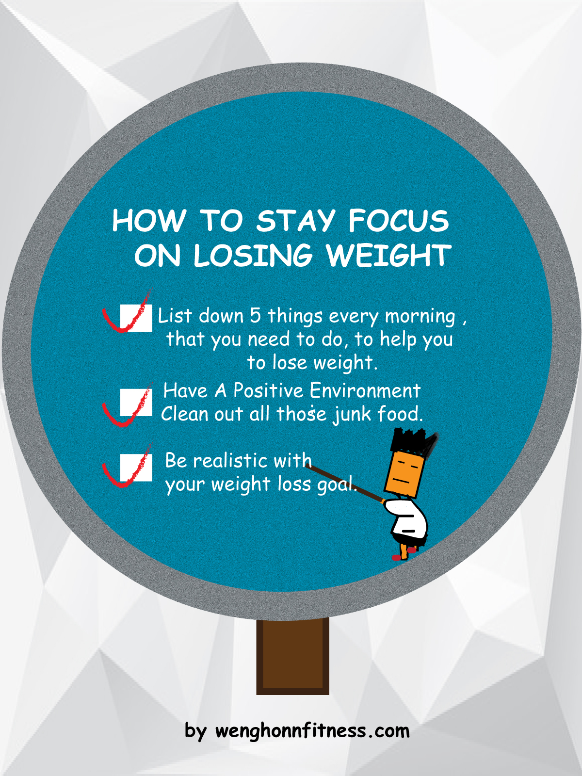 Use below 3 tips to laser focus and burn those nasty fat.