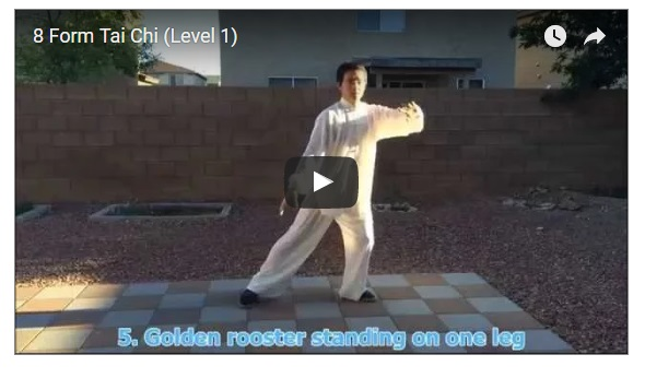Learn This 8 Form of Morning Tai Chi