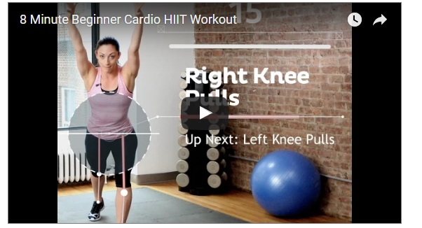 hiit training workouts for beginners in 8 MINUTES