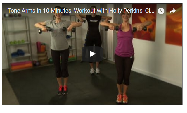10 Minutes Arm Toning Workout