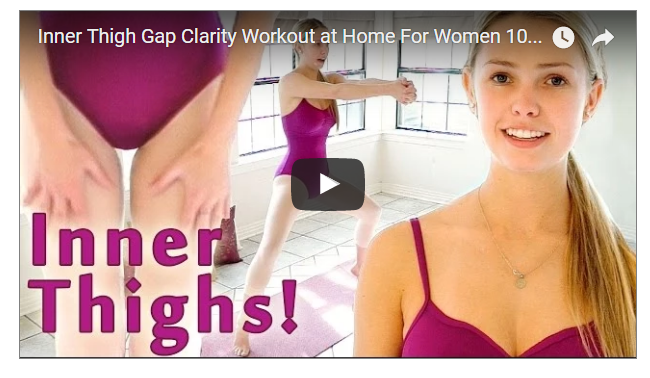 Female Thigh Gap WOrkout