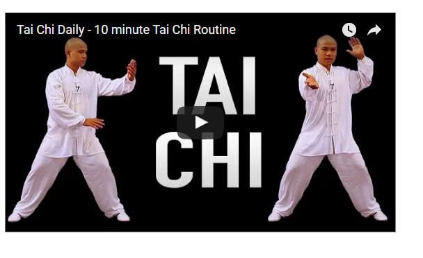 10 Minutes Tai Chi Practices