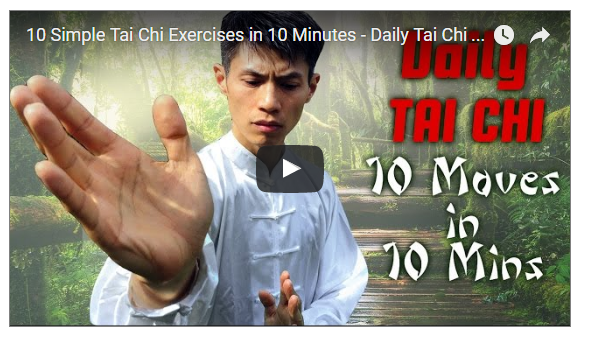 10 Minutes Tai CHi for Beginner