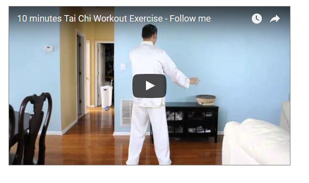 10 Minutes Tai Chi Workout