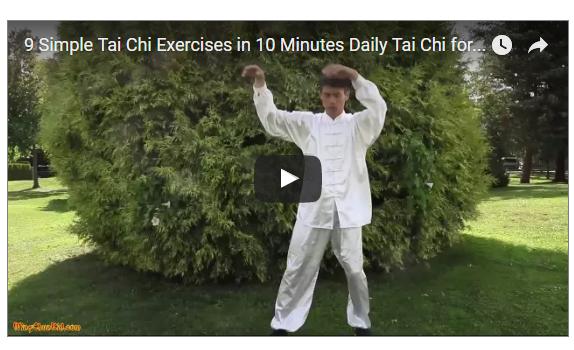 9 Tai Chi Movement in 10 Minutes