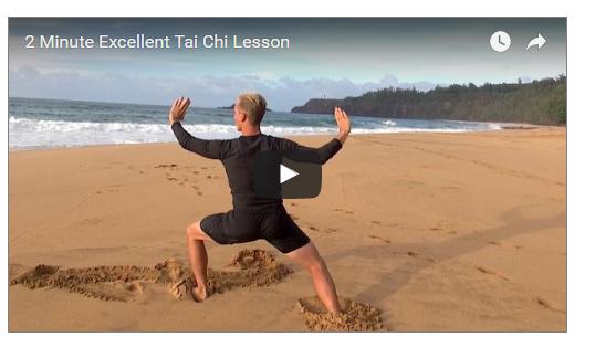 2 Minutes Tai Chi Lesson