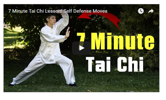 7 Minutes Tai Chi Self Defence
