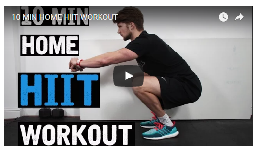 10 Minutes Fire HIIT Workout