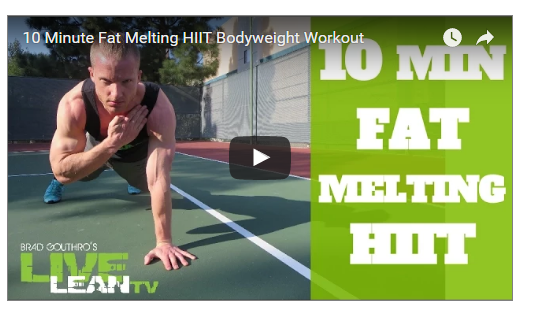 10 Minutes Fat Melting HIIT