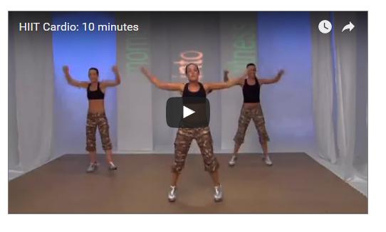 10 Minutes Super HIIT Cardio