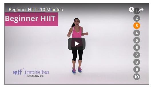 10 Minutes HIIT Beginner