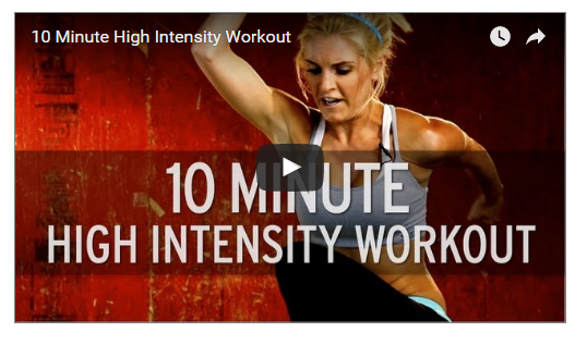 10 Minutes HIIT Body Workout