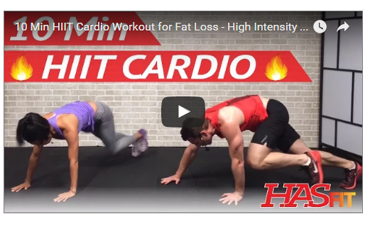 HIIT Fat Loss For Male And Female