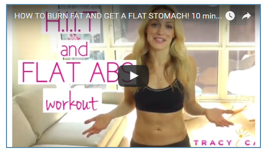 Flat Tummy HIIT WOrkout