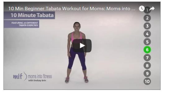 10 MInutes Tabata for Beginner