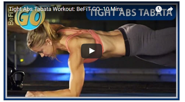 Washboard Abs Tabata Workout