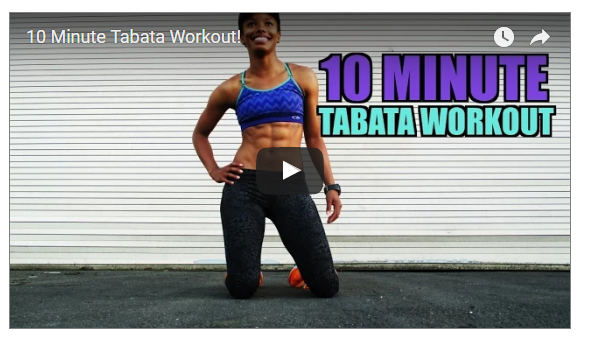 Metabolic Tabata In 10 Minutes
