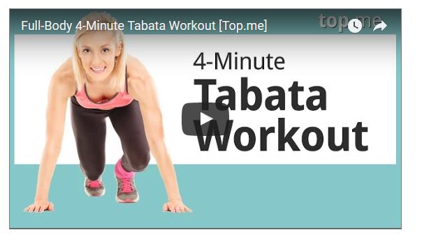 4 Minutes Full Body Blast Tabata