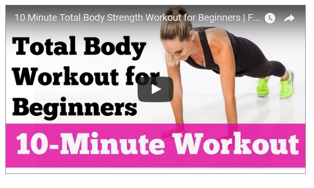 10 Minute Female Full Body Blast