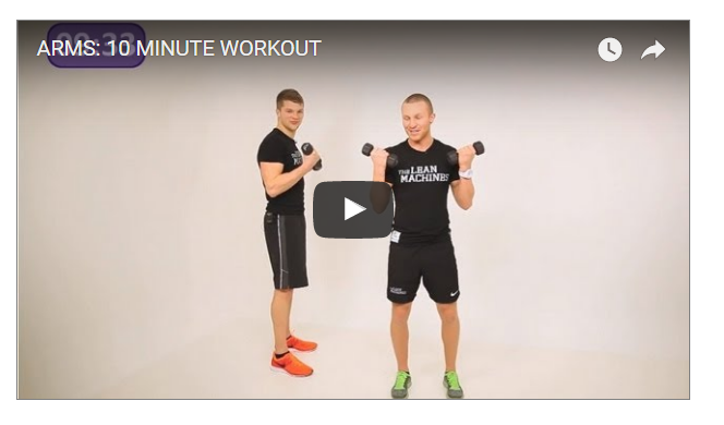 10 Minutes Tight Arms Routine
