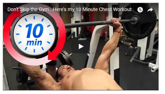 10 Minutes Big Chest Workout