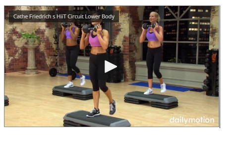 Cathe Friedrich's 5 Minutes HiiT Circuit Lower Body