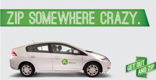 zip car business model
