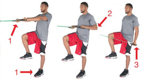 Resistance Band Push-downs