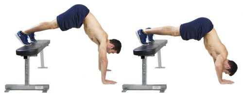 levated Pike Push-Up