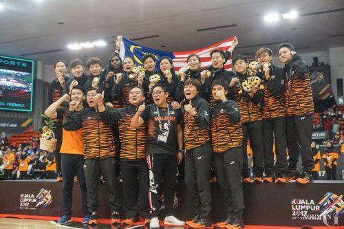 Seagames Malaysia Women Basketball Team 2017 1