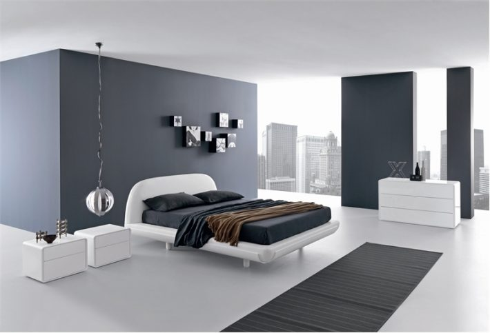 minimalist bed room design