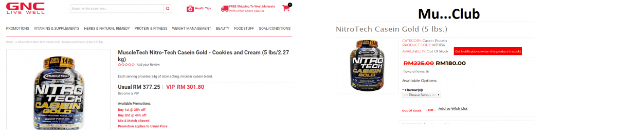 Alternate Way To Buy 100% Original Body Building Supplement In Malaysia .