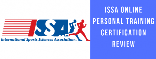 BEST ISSA ONLINE PERSONAL TRAINING CERTIFICATION REVIEW