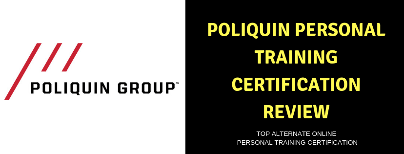 BEST POLIQUIN Personal Trainer ONLINE CERTIFICATION REVIEW