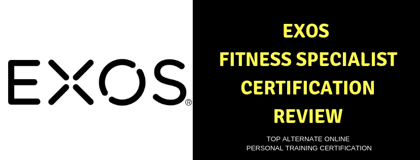 EXOS FITNESS SPECIALIST CERTIFICATION REVIEW