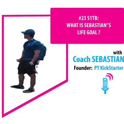 """WHAT IS SEBASTIAN""""S LIFE GOAL ?"""