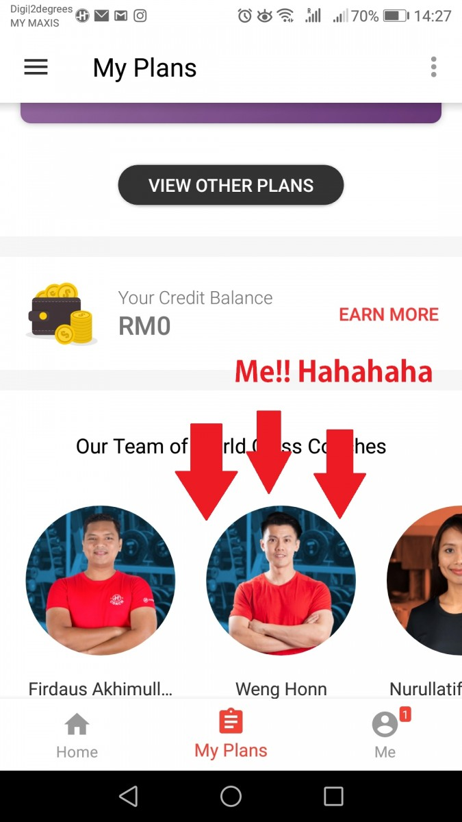 Healthifyme Fitness Coach In Malaysia