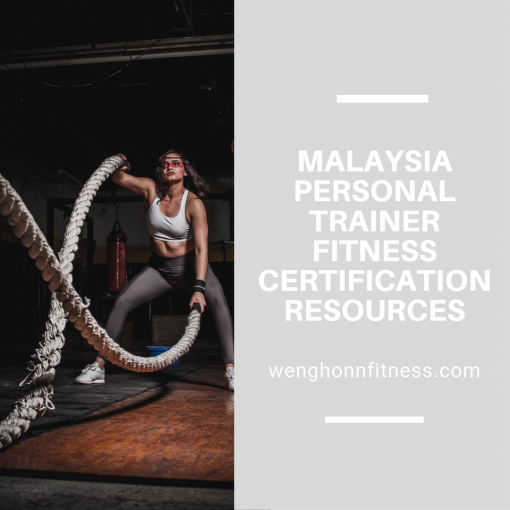 Malaysia Personal Trainer Fitness Certification Resources